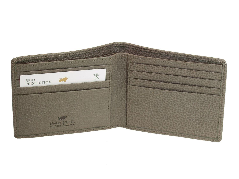 98248d57552f2 Die Lederbörsen aus der Serie Turin von Braun Büffel sind ideale Begleiter  für moderne Geschäftsleute.