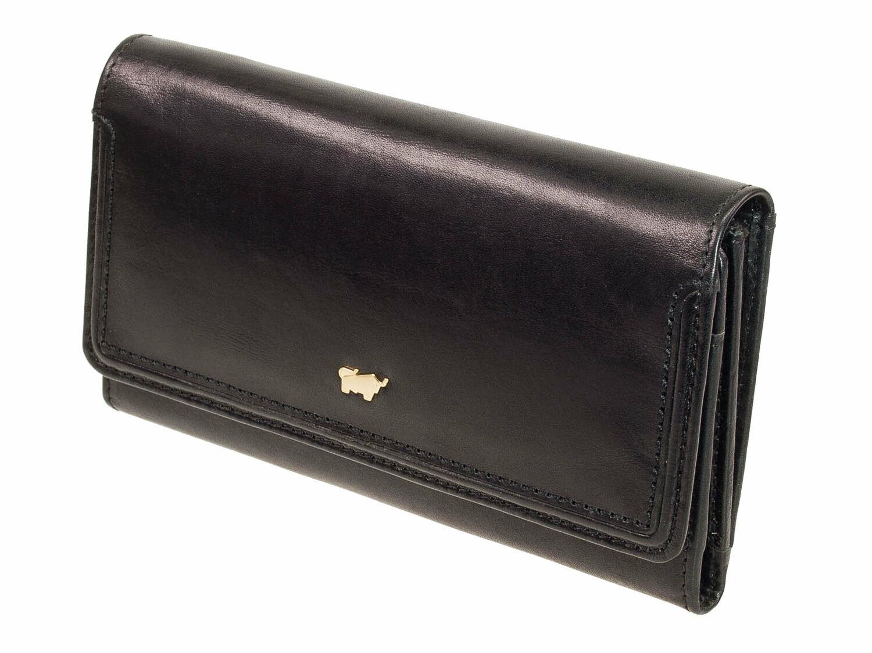 077dd9bd736638 ... große Damen Geldbörse Portemonnaie Leder Schwarz Leder. Die Serie Venice  von Braun Büffel ist eine sportlich elegante Damenserie aus vegetabíl  gegerbten ...