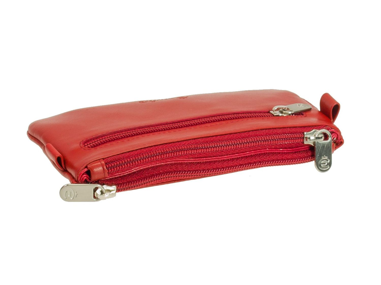 Esquire Helena 3992-50 Rot Schlüsseletui Schlüsseltasche Leder Damen Neu