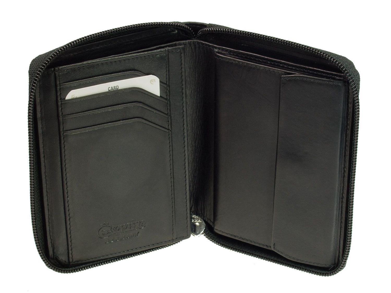 Kleidung & Accessoires Esquire RFID Harry Zip Around Wallet