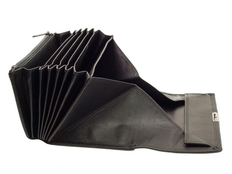 Kellnerbörse aus Leder von Esquire Serie Eco 5001-90 Schwarz Bediengsgeldbeutel