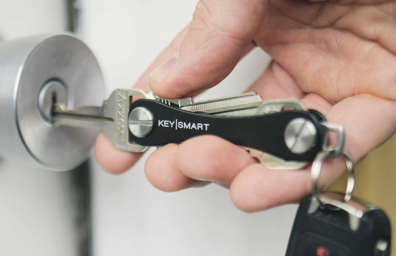 Keysmart Blau Schlüsseletui Schlüsselorganizer Schlüsselsammler Schlüsselknochen