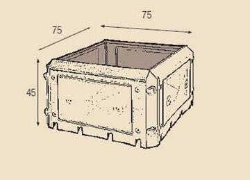 BioQuick Komposter Erweiterungsset ohne Deckel 230 Liter Hochbeet KHW NEU