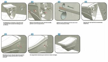 Wand WC mit Dusche Wand WC mit Bidet Funktion Tahara mit integrierter Armatur!