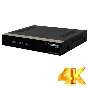 Octagon SF4008 Triple 4K 2x DVB-S2X E2 Linux UHD Receiver ohne HDD