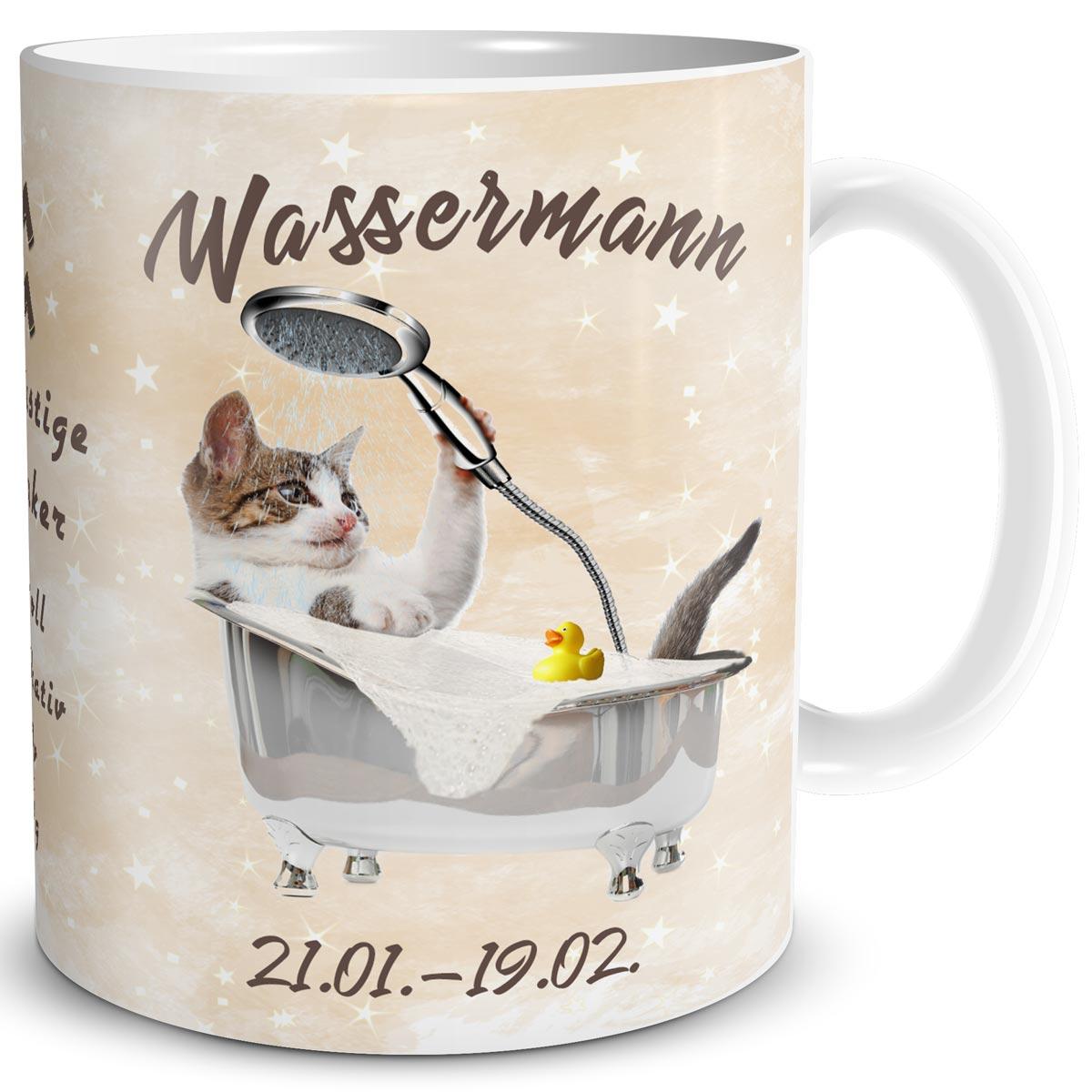 World of the Cat Dunoon Glencoe Porzellanbecher Welt der Katze Katzen