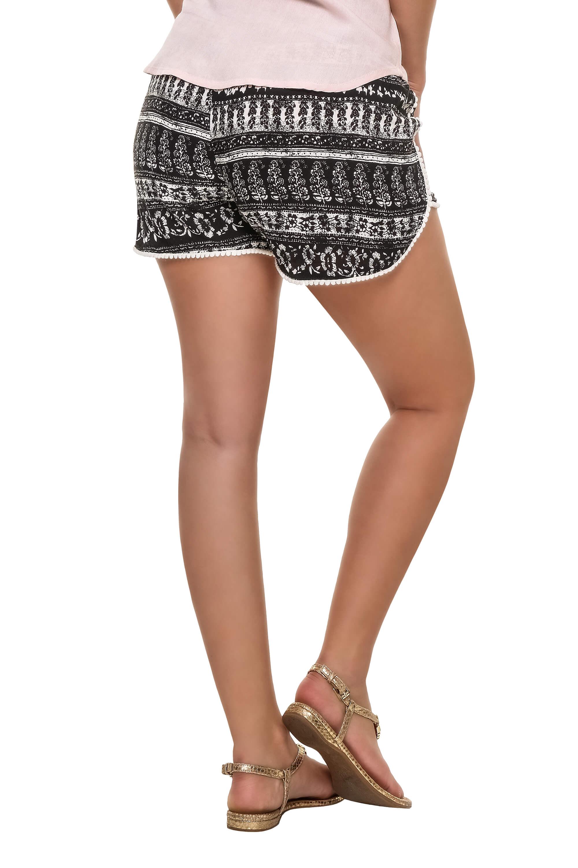 Hailys Damen Shorts Bermudas Sommershorts Kurze Hose Damenhose Print ... 0785ca6a86