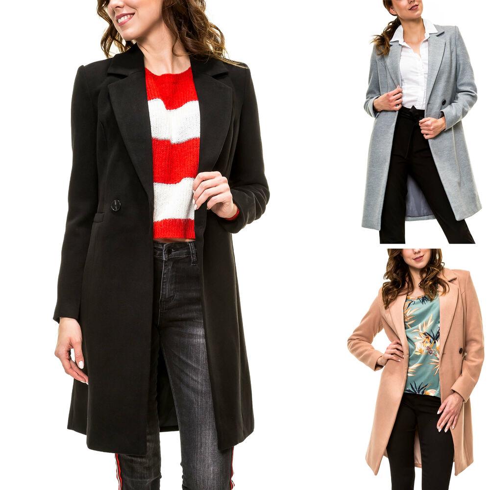 NEU Vero Moda Damen Übergangsmantel Kurzmantel Damenmantel Mantel Jacke