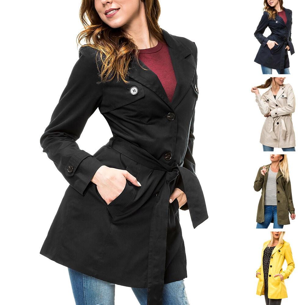 Vero Moda Damen Kurzmantel Übergangsmantel Chic Business Color Mix NEU