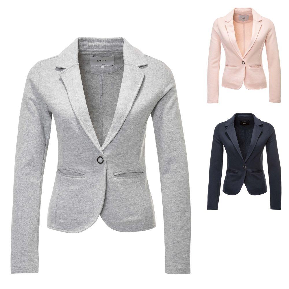 Only Damen Blazer Anzugjacke Business Jacke Jackett Damenjacke Color Mix NEU
