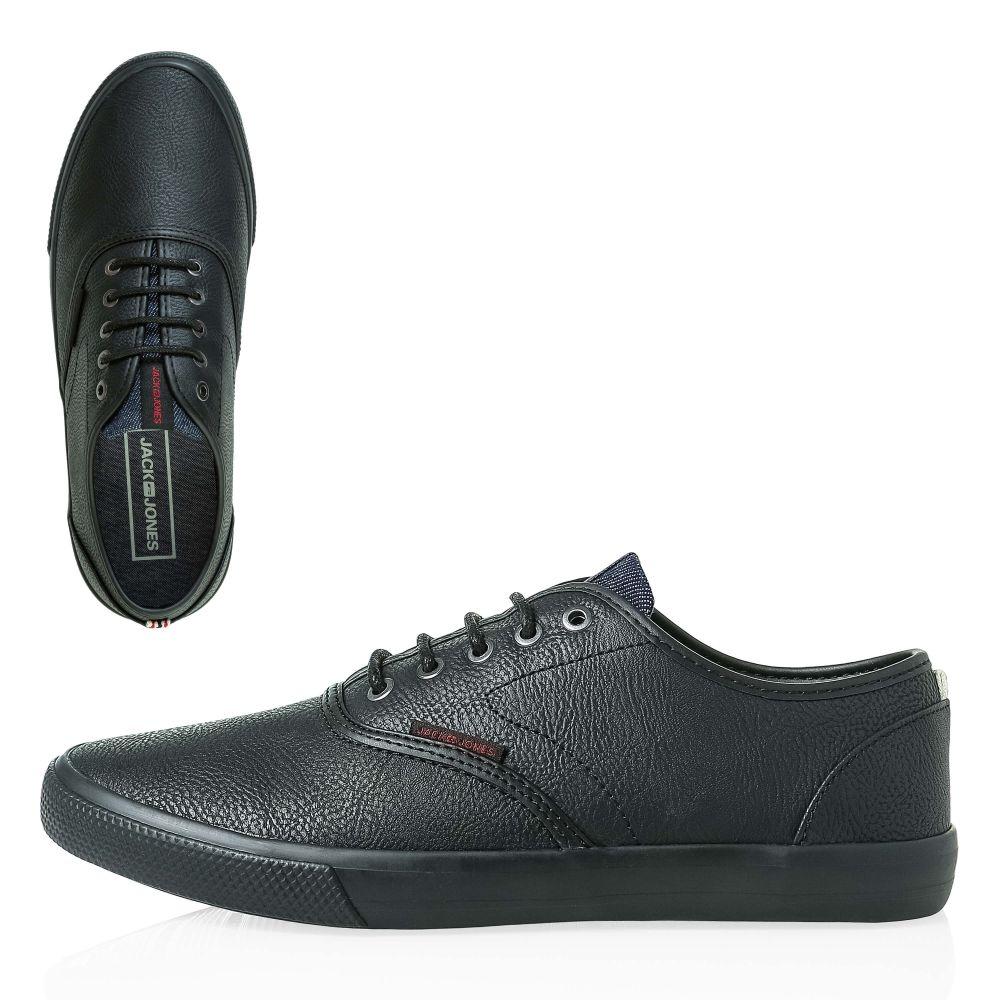 44f7f2477166eb Jack   Jones Footwear Herren Sneaker Kunstleder Low Top Schnürschuhe ...