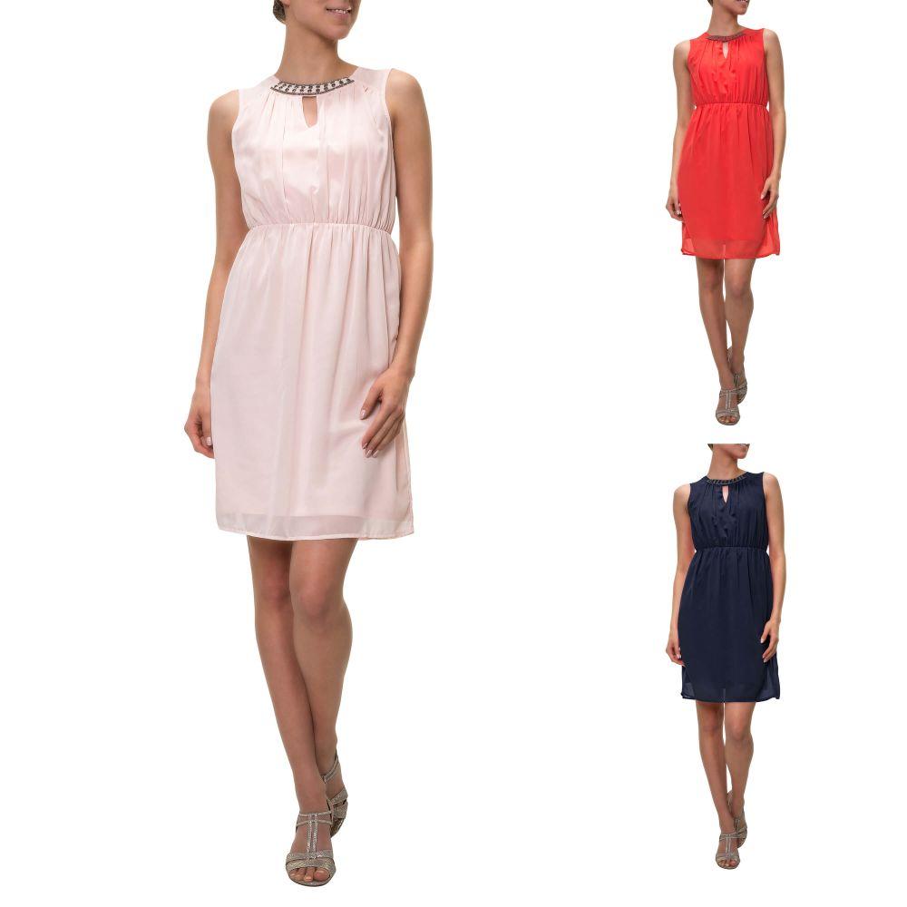 Detalles de Vero Moda señora vestido de cóctel vestido de verano estuche  vestido de noche sale nuevo- ver título original