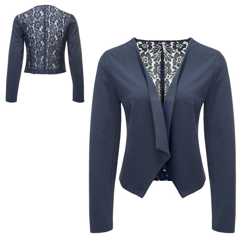 Only Blazer da Donna Vestito Giacca Giacca Business Giacca Donna Giacca Color Mix