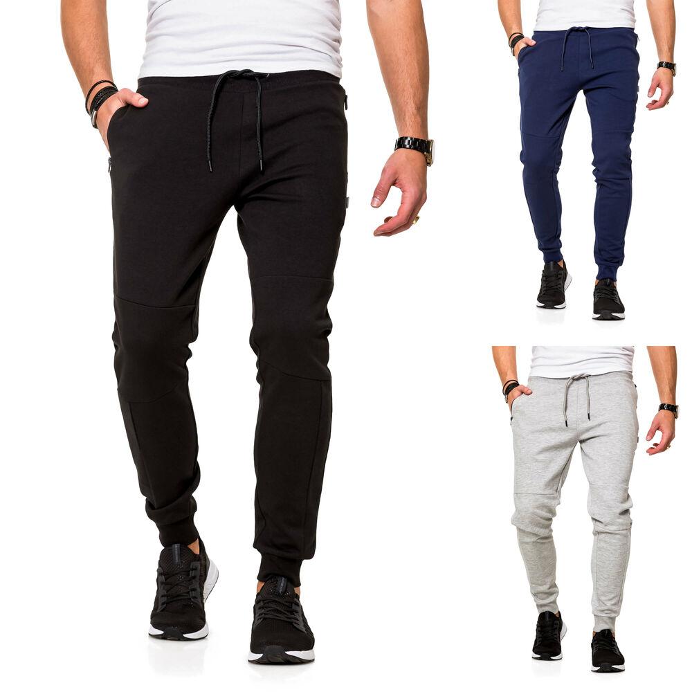 Sweat Denim Herren Jeans Hose Herrenhose Sweatpants Slim Fit Regular