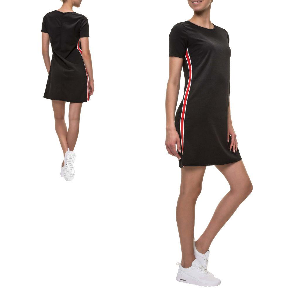 ccb8c617d7c Hailys Damen Kleid Shirtkleid Stretch Jerseykleid Sommerkleid ...