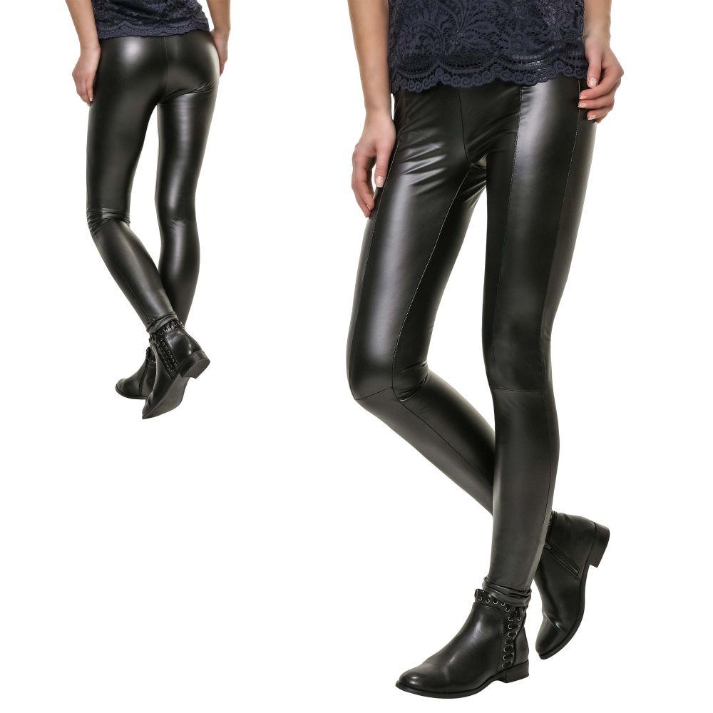 485ab7587d1203 JdY Only Damen Leggings PU Lederhose Skinny Fit Stretch ...