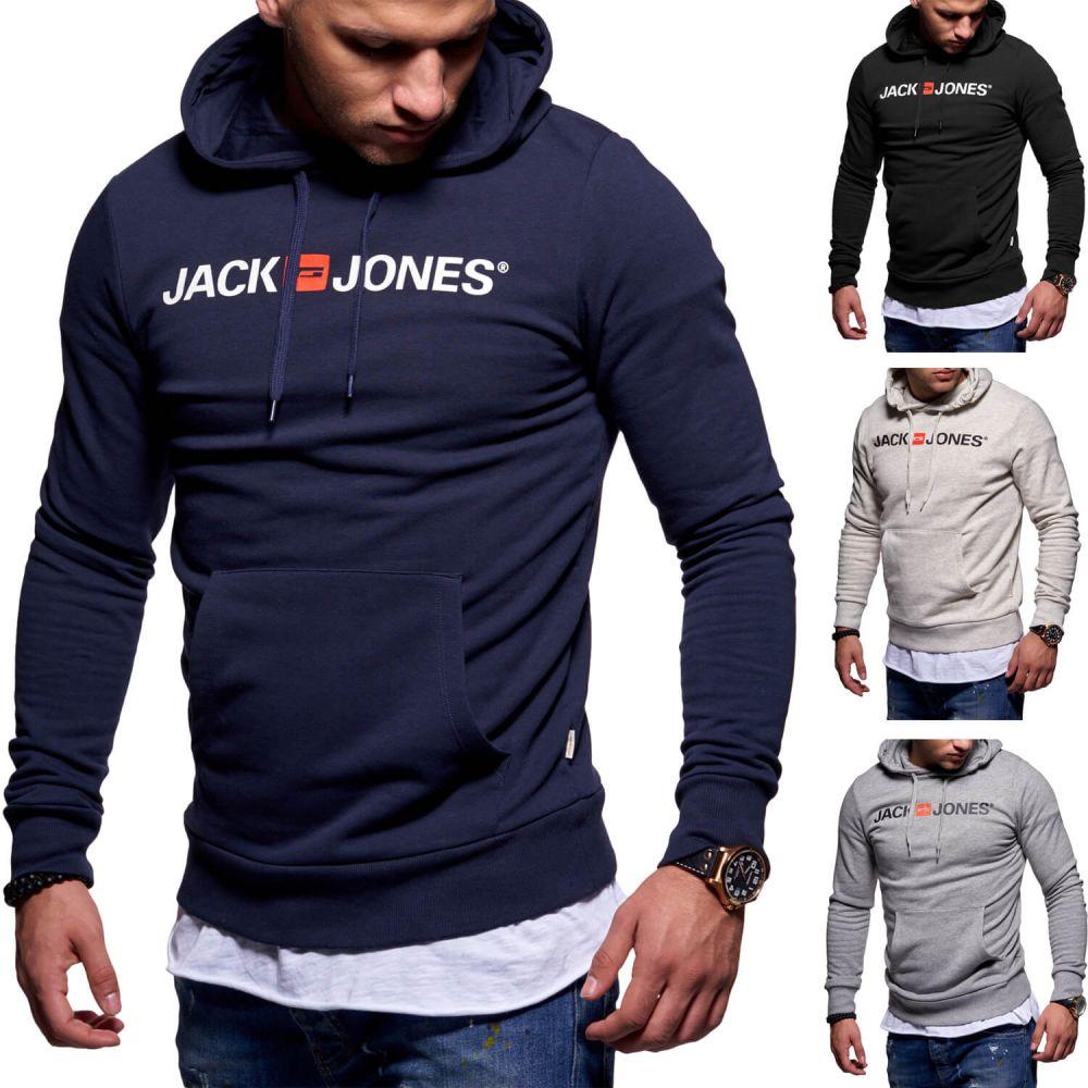 Jack /& Jones Herren Sweatjacke Hoodie Kapuzenjacke Herrenjacke Pullover