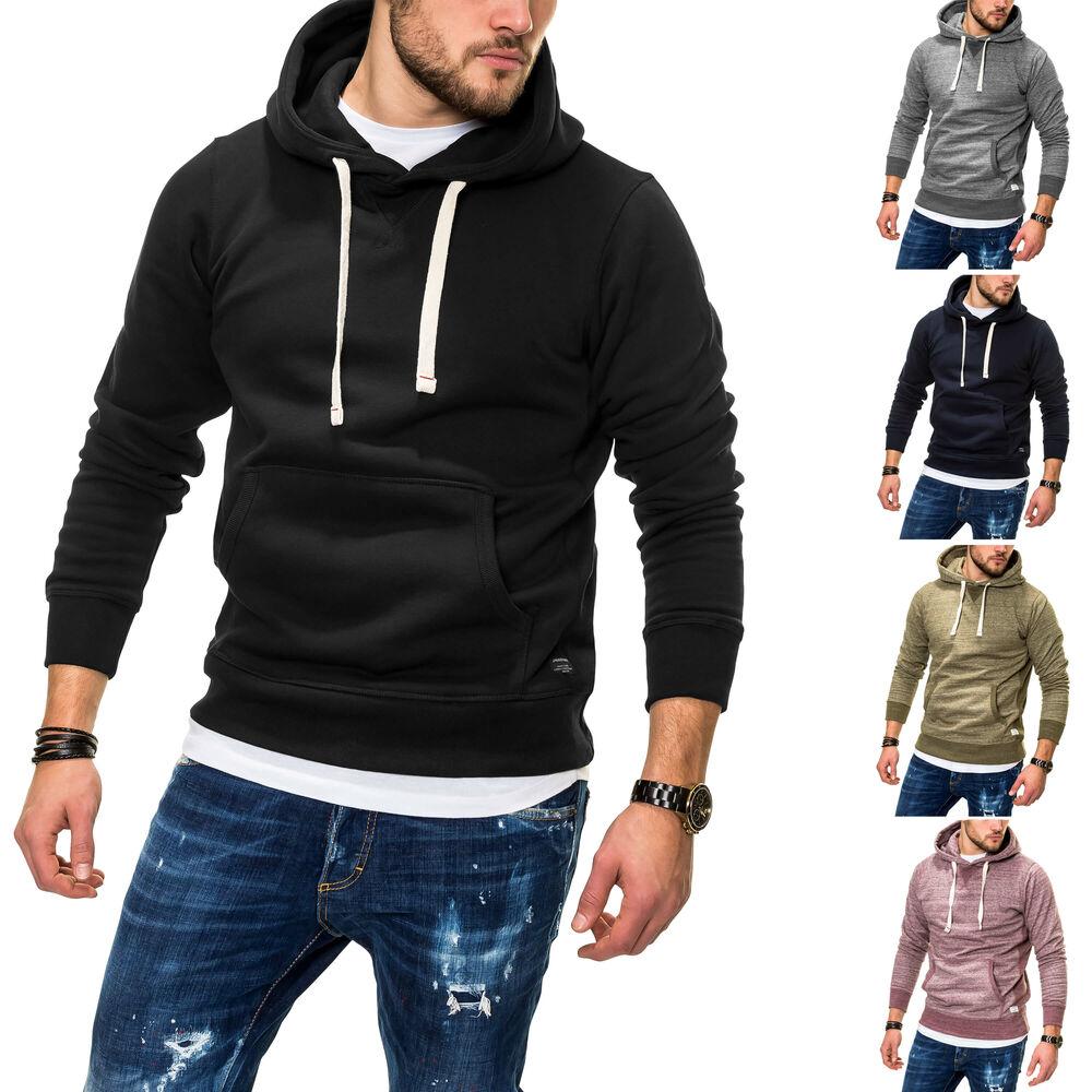 Jack   Jones Herren Hoodie Kapuzenpullover Herrenpullover Sweater ... a0126c26e4