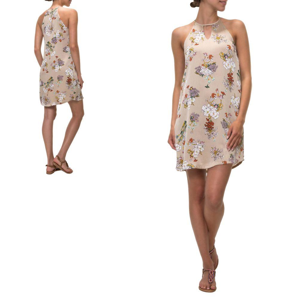 86e86513aa0acd Only Damen Neckholder Kleid Mit Print Sommerkleid Kurz Mini ...