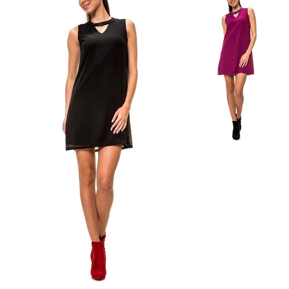 details zu only damen partykleid choker dress cocktailkleid abendkleid  a-linie sale