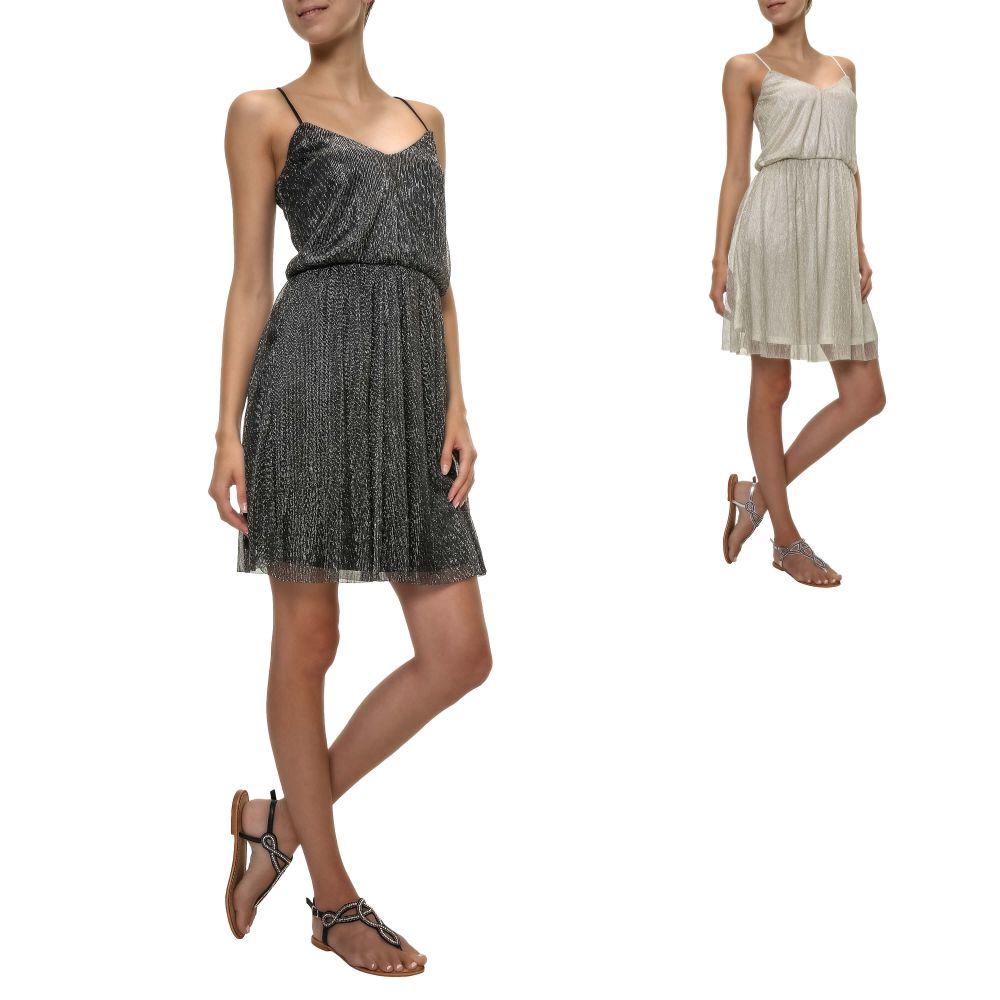 19e00b5fc1cdab Only Damen Kleid Cocktailkleid Slip Dress Kurz Sommerkleid Color Mix ...