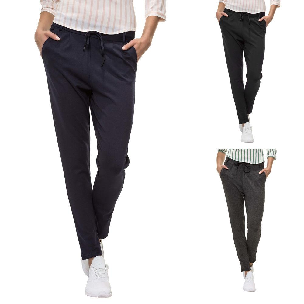 Hailys Donna Casual Pantaloni Lunghi Pantaloni Tessuto Comfort Fit Donna Pantaloni