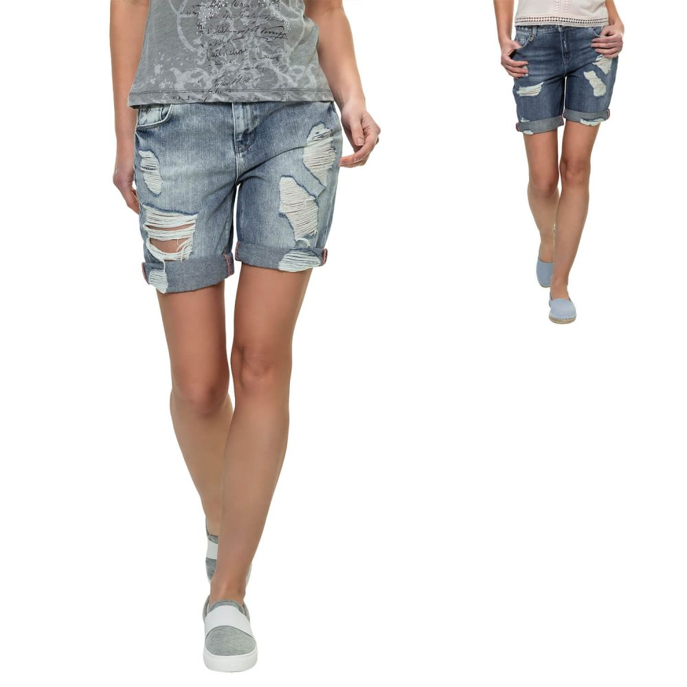 Only Damen Jeans Shorts Bermudas Denim Vintage Damenhose Hose SALE ... ab71542735