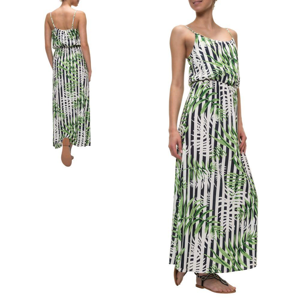 ba585b2949fd Details zu Only Damen Maxikleid Trägerkleid Slip Dress Sommerkleid Langes  Kleid SALE %