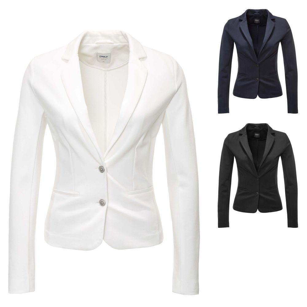 0aaf6ce2ce1bbd Only Damen Sweat Blazer Anzugjacke Business Sakko Jackett Jacke Top ...