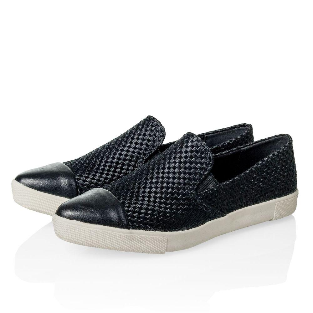 Vero Moda Damen Slip-On Sneaker Loafer Slipper Mokassin Halbschuhe Black SALE %