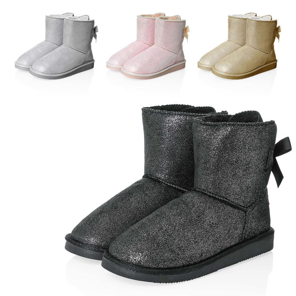 Details zu Hachiro Damen Schlupfstiefel Stiefeletten Stiefel Boots Damenschuhe Winterschuhe