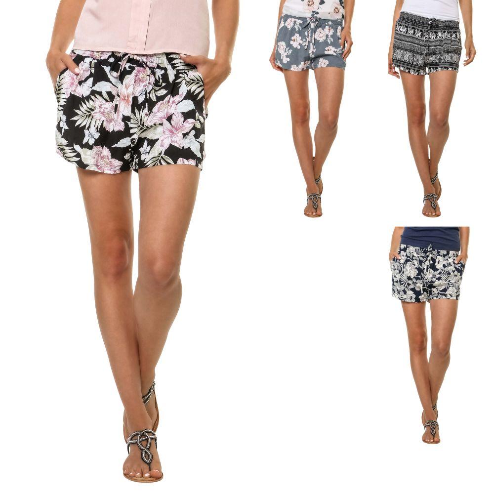 Hailys Damen Shorts Sommershorts Bermudas Print Kurze Hose Color Mix ... 3b08b65765