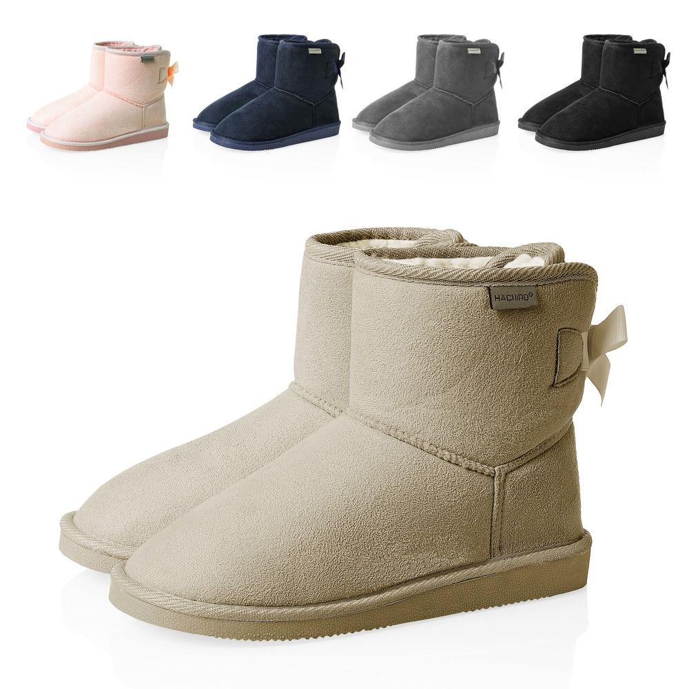Stiefel Winterstiefel Zu Schlupfstiefel Boots Hachiro Stiefeletten Schuhe Damen Details W2YbEHeID9