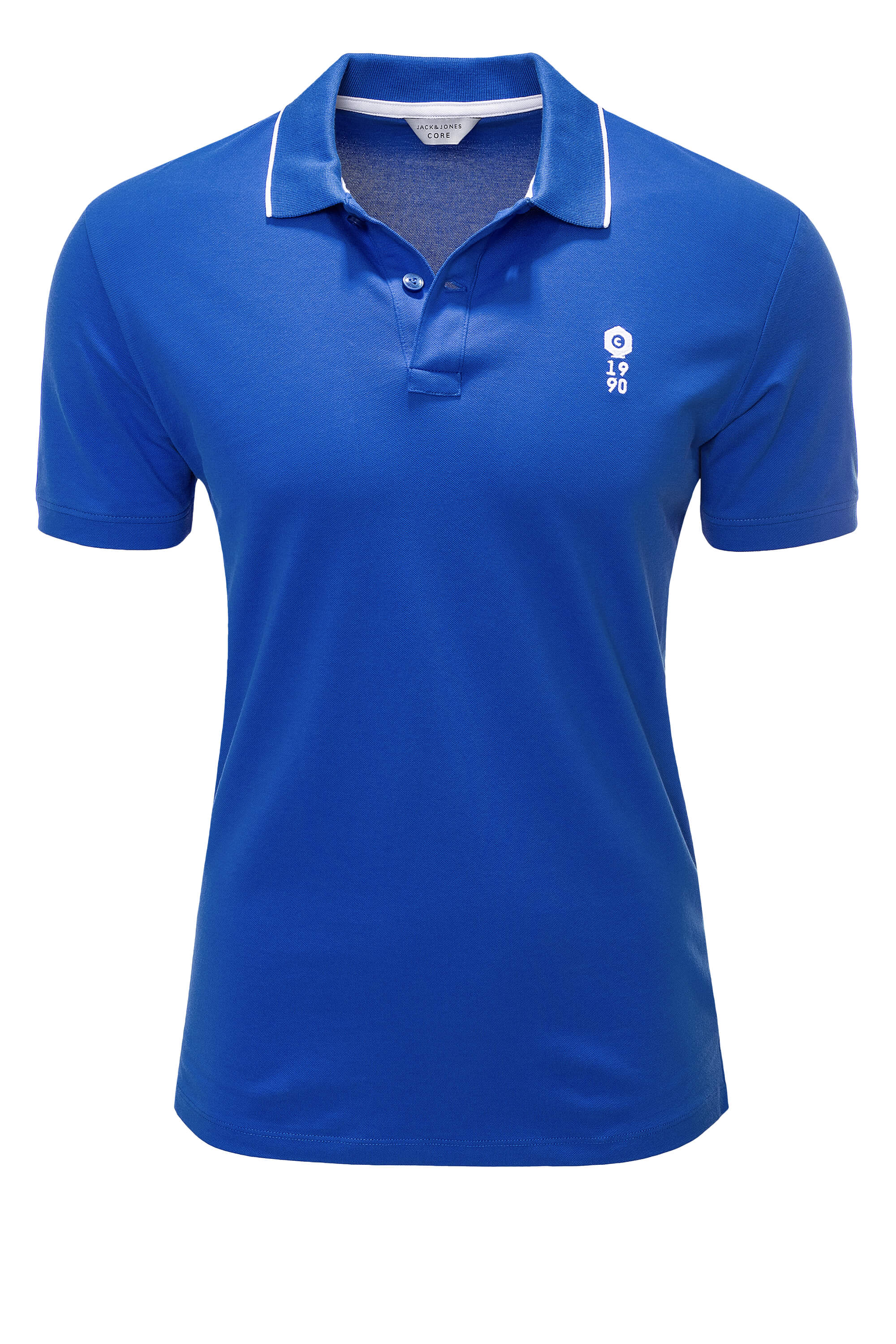 Jack-amp-Jones-senores-camiseta-polo-de-manga-corta-Camisa-Polo-Shirt-t-shirt-Business-color-nuevo miniatura 30