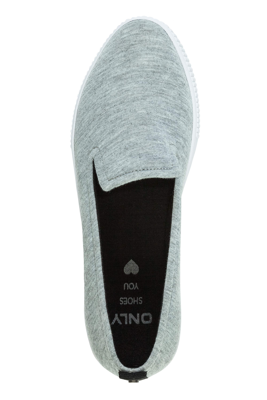 Only-Donna-slip-on-sneaker-low-top-mocassino-loafer-slipper-scarpe-basse-sale miniatura 4