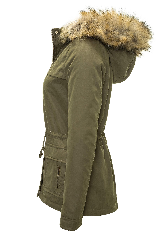 Details zu Hailys Damen Parka Wintermantel Kurzmantel Kapuzenjacke Damenjacke NEU SALE %