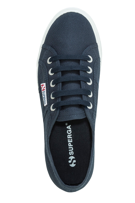 Superga-Donna-Canvas-Sneaker-Low-Top-Suola-Plateau-Scarpe-Donna-Scarpe-Tempo-Libero miniatura 7