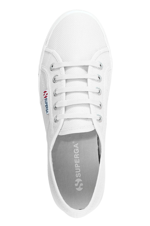 Superga-Donna-Canvas-Sneaker-Low-Top-Suola-Plateau-Scarpe-Donna-Scarpe-Tempo-Libero miniatura 4