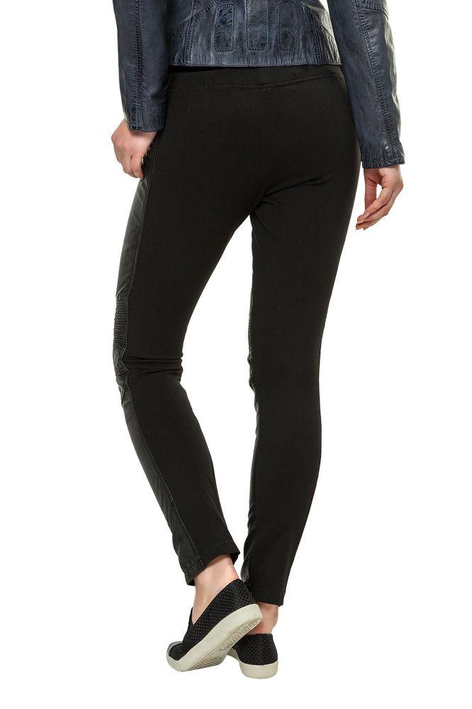 Freaky Nation Damen Lederhose Stretch Lederleggings Pants Biker-Look ... 26d1e89f0f
