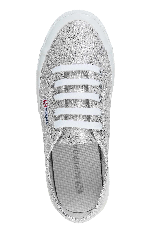 NUOVO-Superga-Donna-Scarpe-Sportive-Sneaker-low-top-canvas-GLITTER-LACCI-Sale miniatura 13