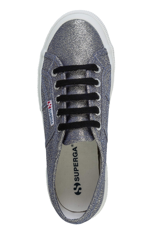 NUOVO-Superga-Donna-Scarpe-Sportive-Sneaker-low-top-canvas-GLITTER-LACCI-Sale miniatura 10