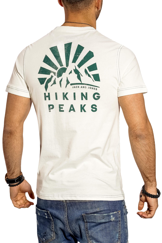 Jack-amp-Jones-Herren-T-Shirt-O-Neck-Print-Shirt-Kurzarmshirt-Herrenshirt-Top-SALE Indexbild 28