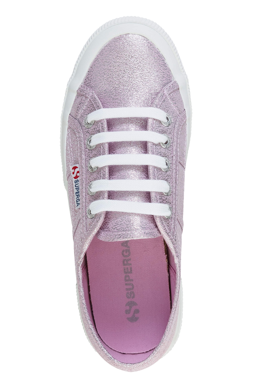 NUOVO-Superga-Donna-Scarpe-Sportive-Sneaker-low-top-canvas-GLITTER-LACCI-Sale miniatura 7
