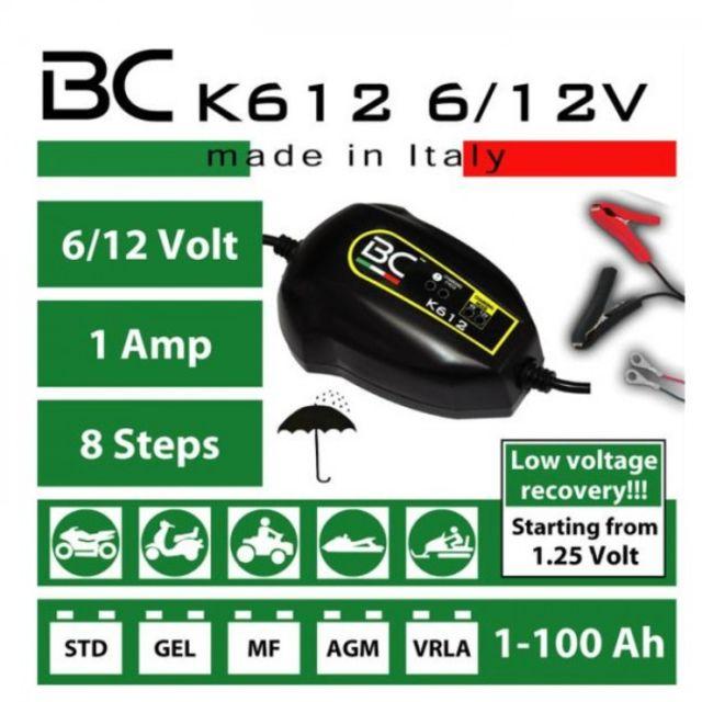 1,5A 12V Ladestrom Motorrad Batterie Ladegerät Batterielade BC DUETTO 900