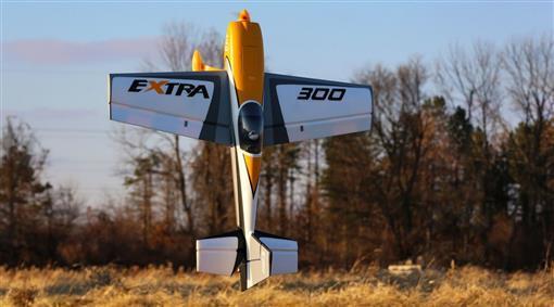 E-flite arte modello di volo extra 300 3d 1.3m PNP efl11575