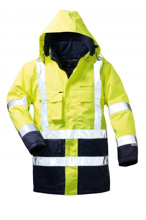 Airsoft Warnschutzparka gelb-blau Gr L
