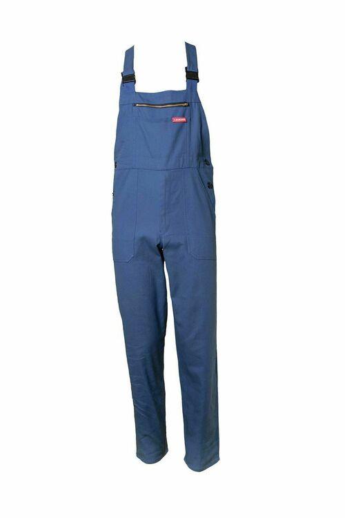 Latzhose Hydronblau Gr 54 Arbeitshose Latzhose blau Arbeitslatzhose Blauman