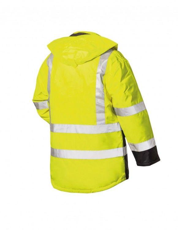 Warnschutzparka gelb-blau Gr Airsoft L
