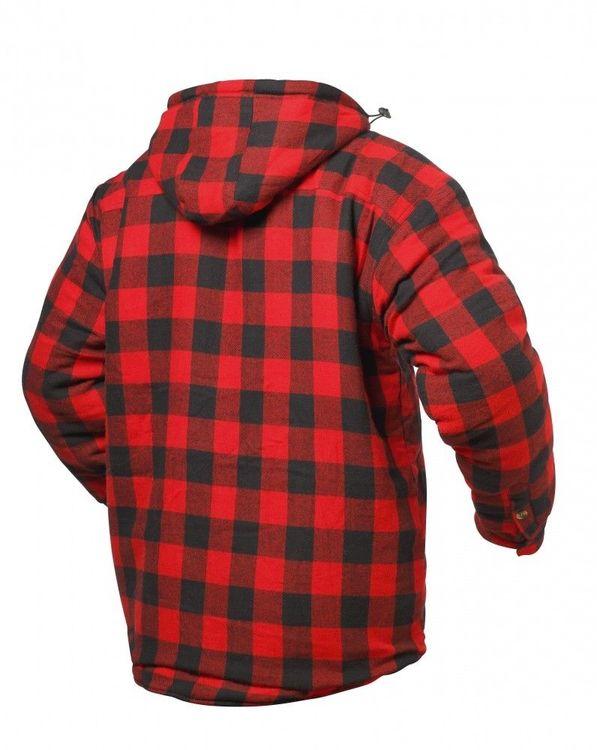 Craftland Winter Thermohemd mit Kapuze OREGON Holzfällerhemd gefüttert -  Bild 2 7fa3c48972