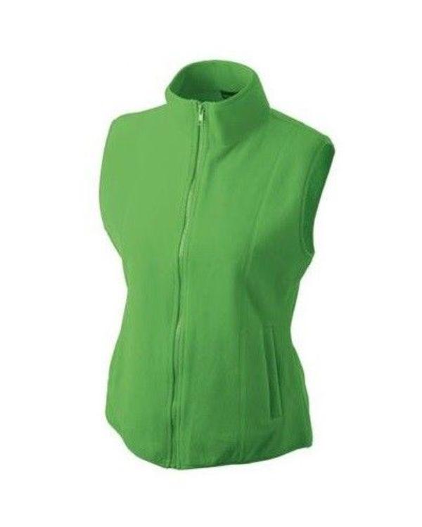 Fleece Weste Bodywarmer Microfleece grün Damen James   Nicholson JN048  Größe M - Bild 1 1ff77e7b87